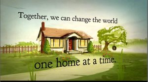 It is START from a HOME to change the WORLD